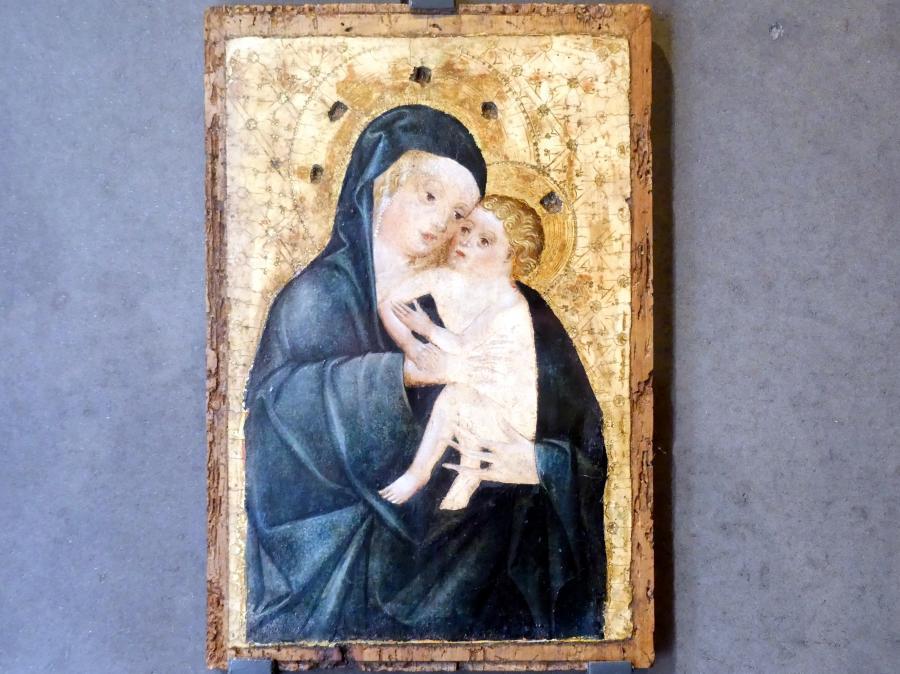 Madonna von Prag-Košíře, vor 1450