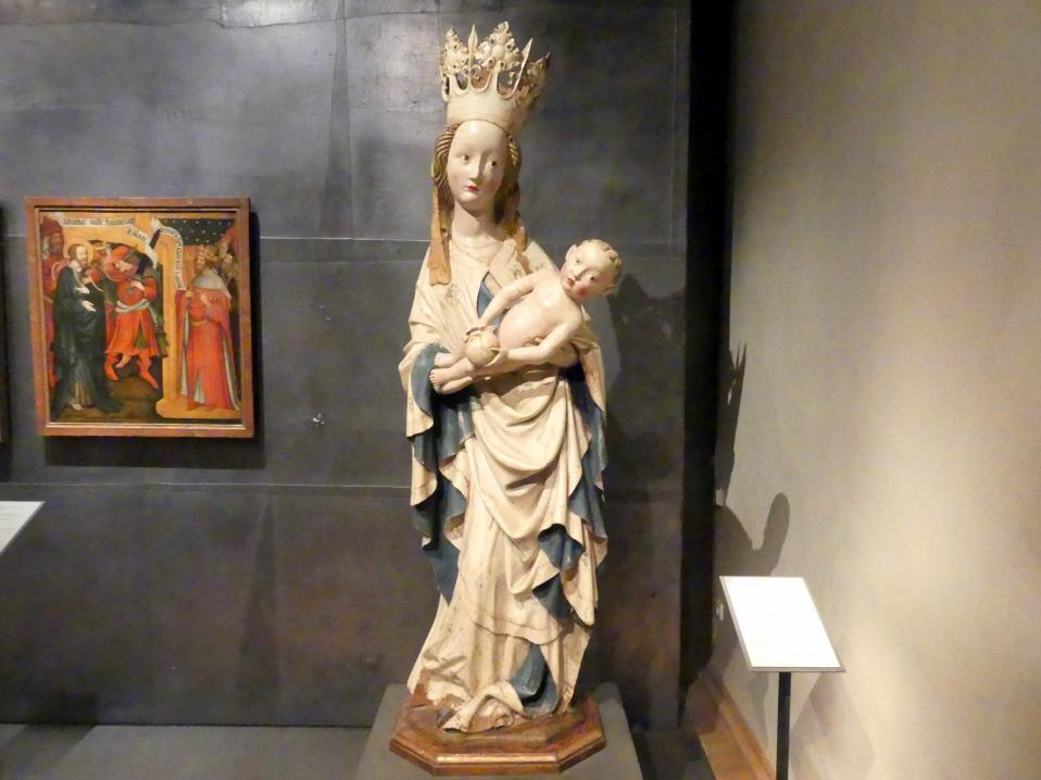 Die franziskanische Madonna, um 1430