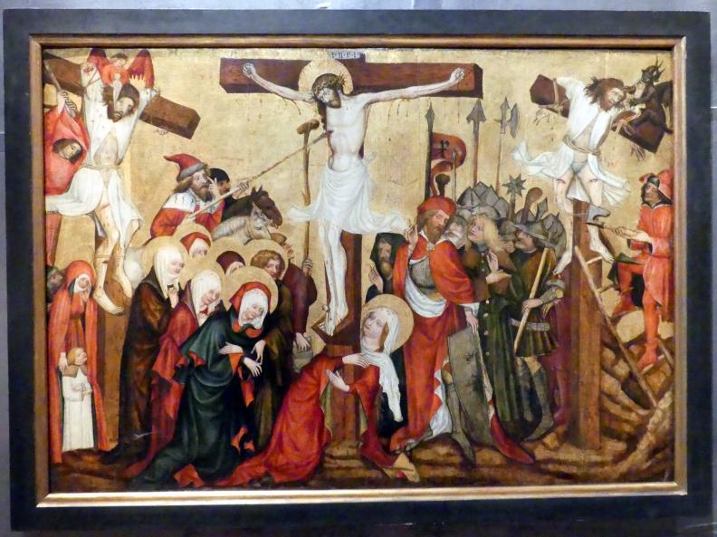 Meister von Großraigern: Sog. Kreuzigung von Nové Sady, um 1430