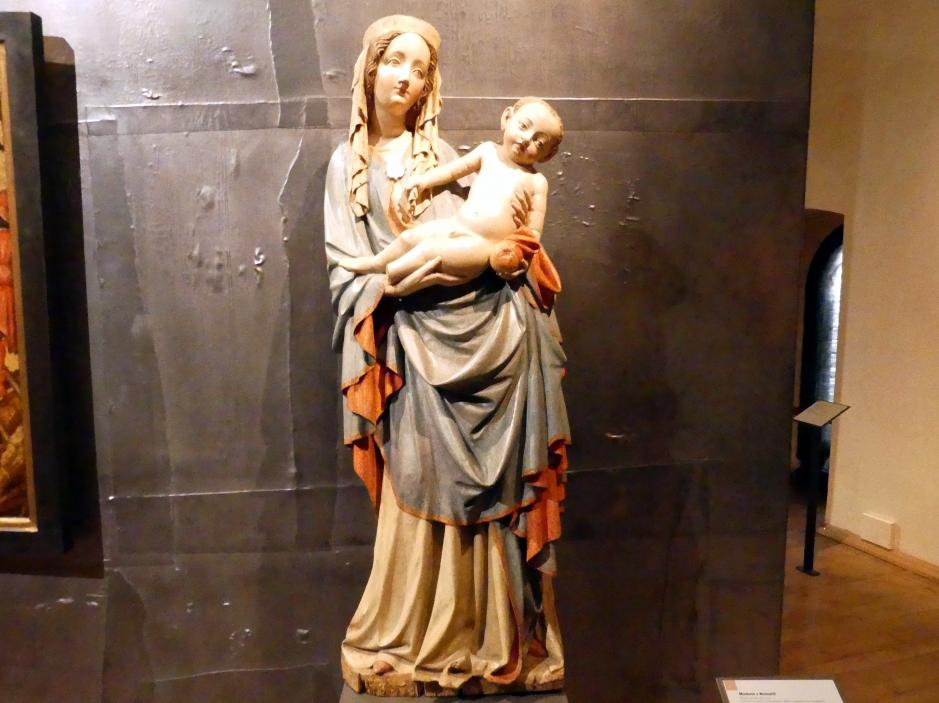 Madonna von Nesvačily, um 1420 - 1430