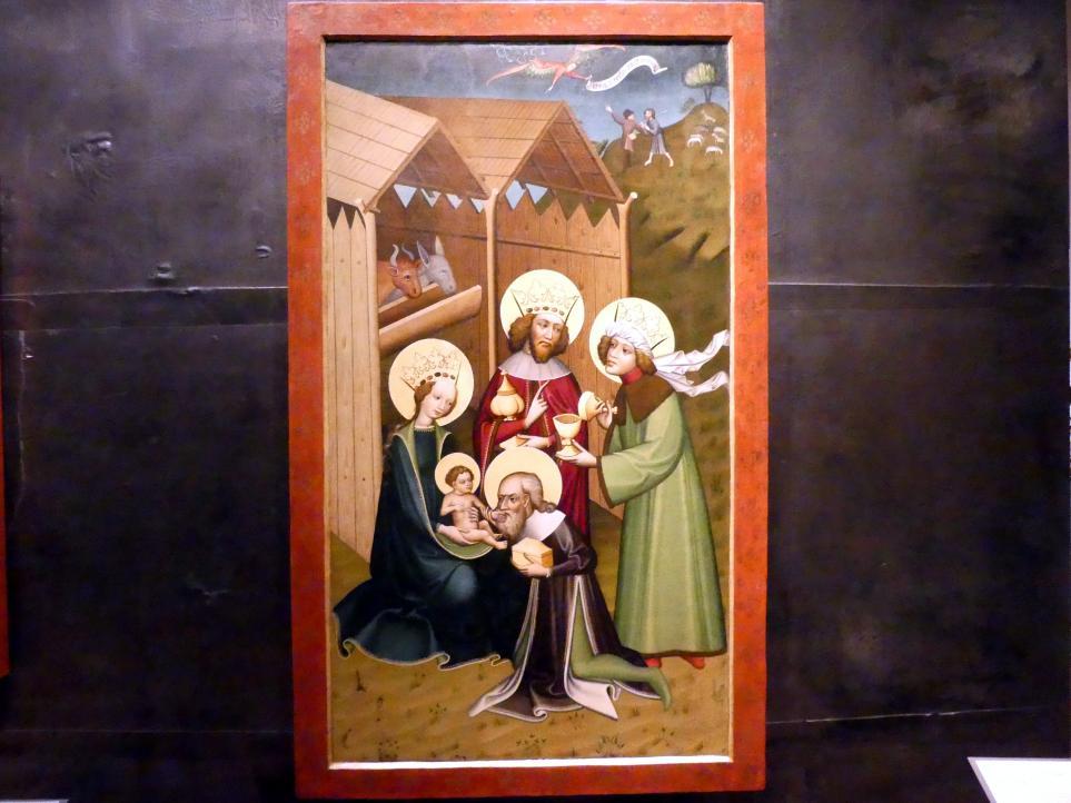 Meister des Matějov-Hauptaltares: Anbetung der Könige, um 1430 - 1450