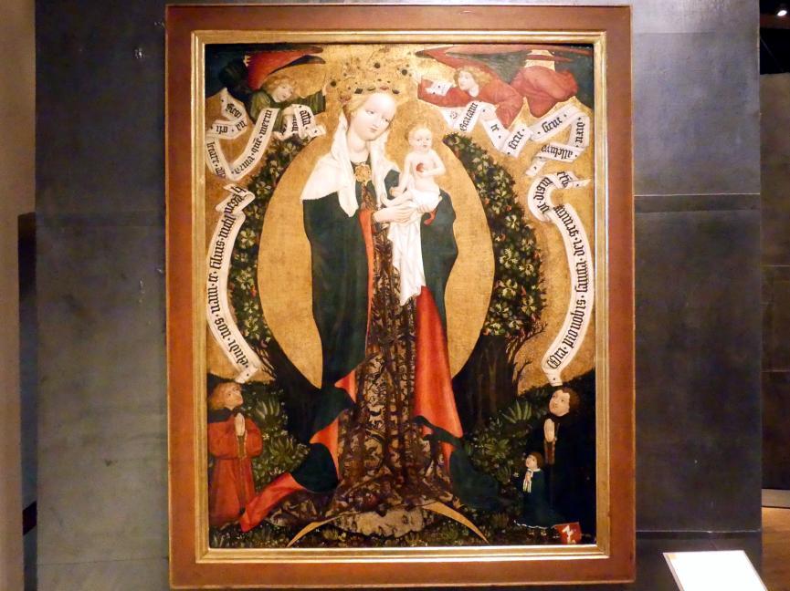 Mariä Aufnahme in den Himmel von Deštná, um 1450