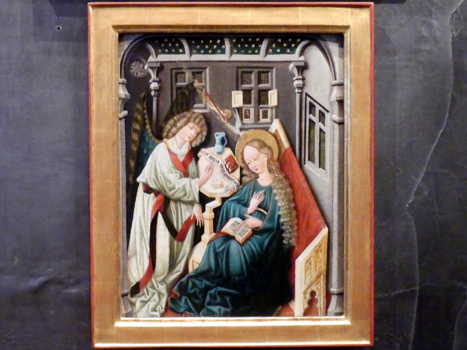 Mariä Verkündigung, um 1460