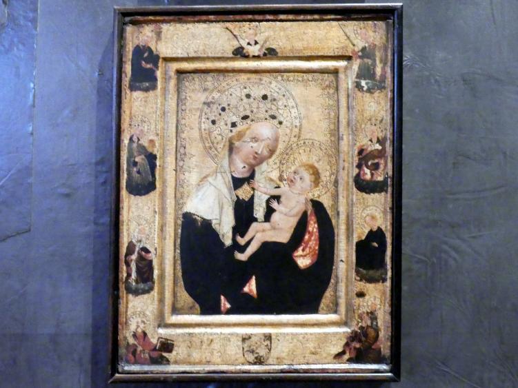 Maria mit Kind, um 1450