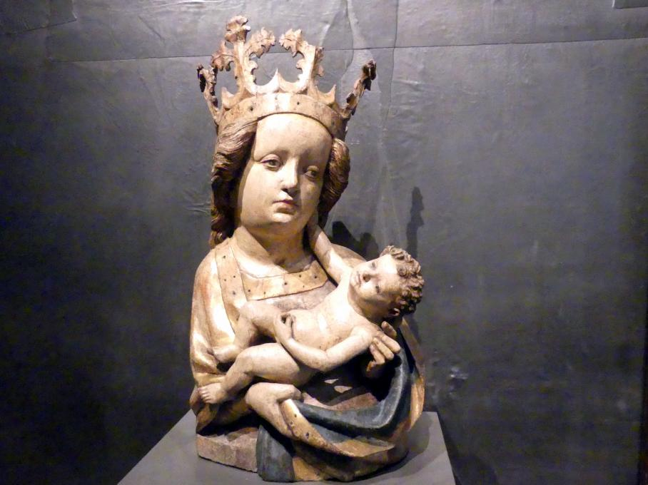Maria mit Kind, um 1460