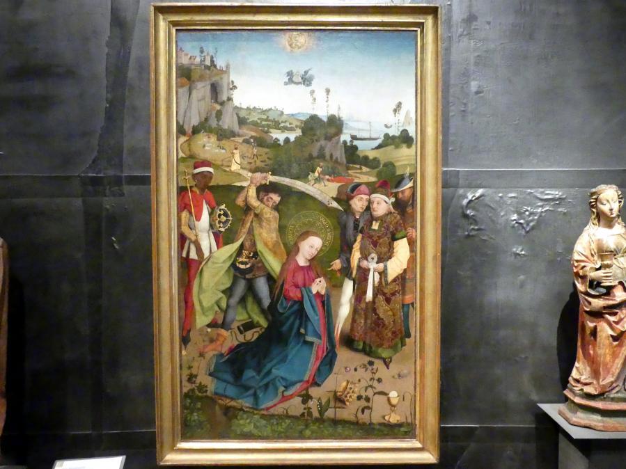 Hans Pleydenwurff: Enthauptung der Heiligen Barbara, Um 1470
