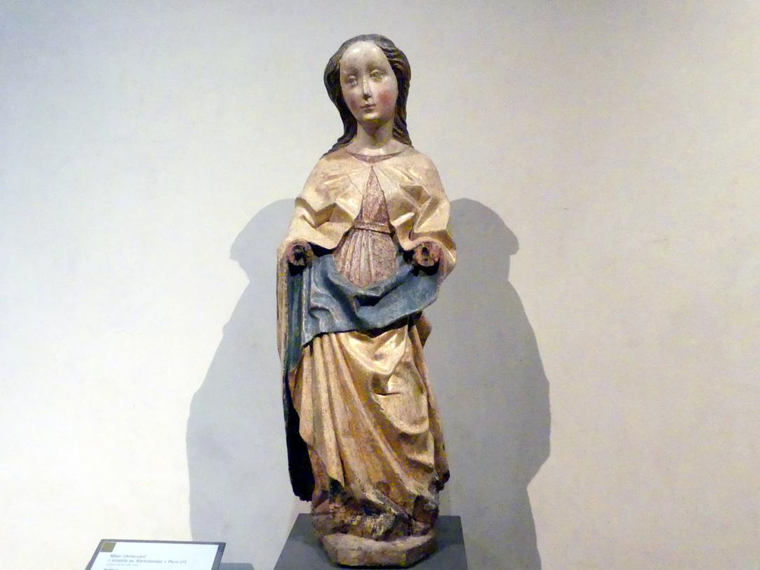 Heilige Jungfrau, vor 1450