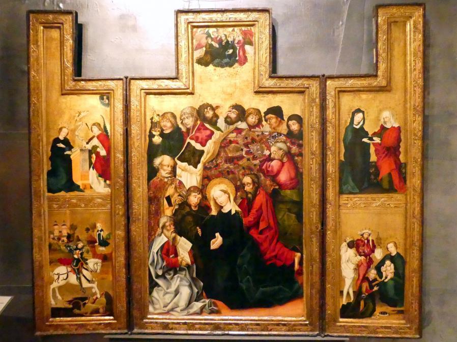 Meister des St.-Georg-Altars: St.-Georg-Altar, um 1470