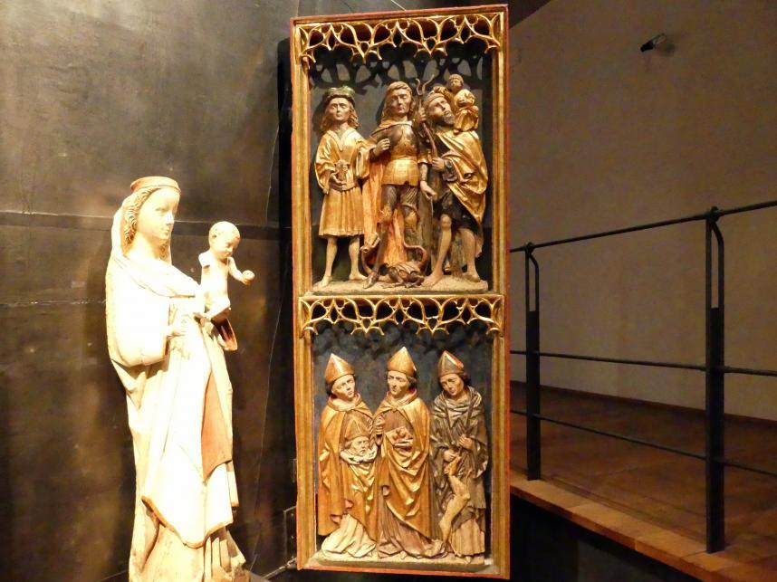 Meister des St.-Georg-Altars: Vierzehn Nothelfer-Altar, Um 1480