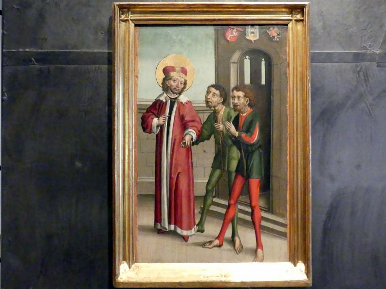 Meister von Eggenburg: Heiliger Wenzel befreit die Gefangenen, Um 1490