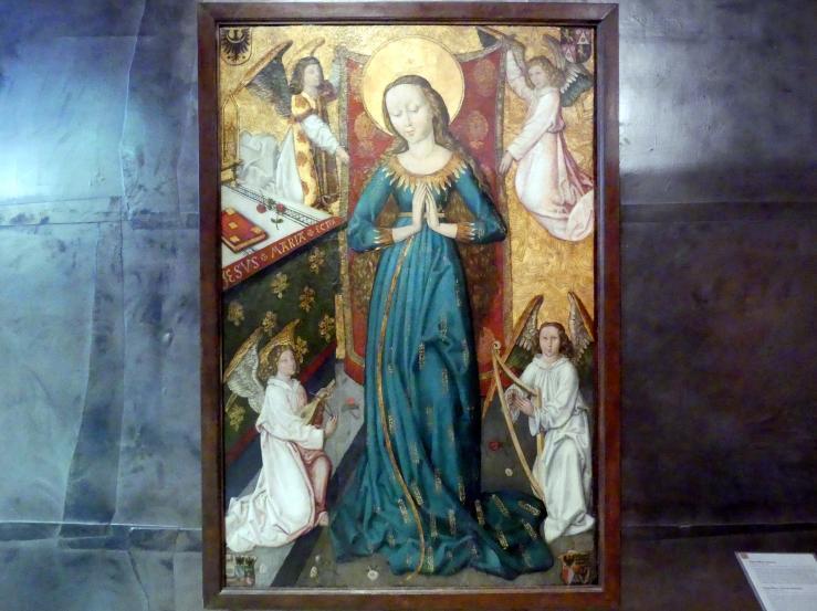 Maria im Ährenkleid, Um 1480