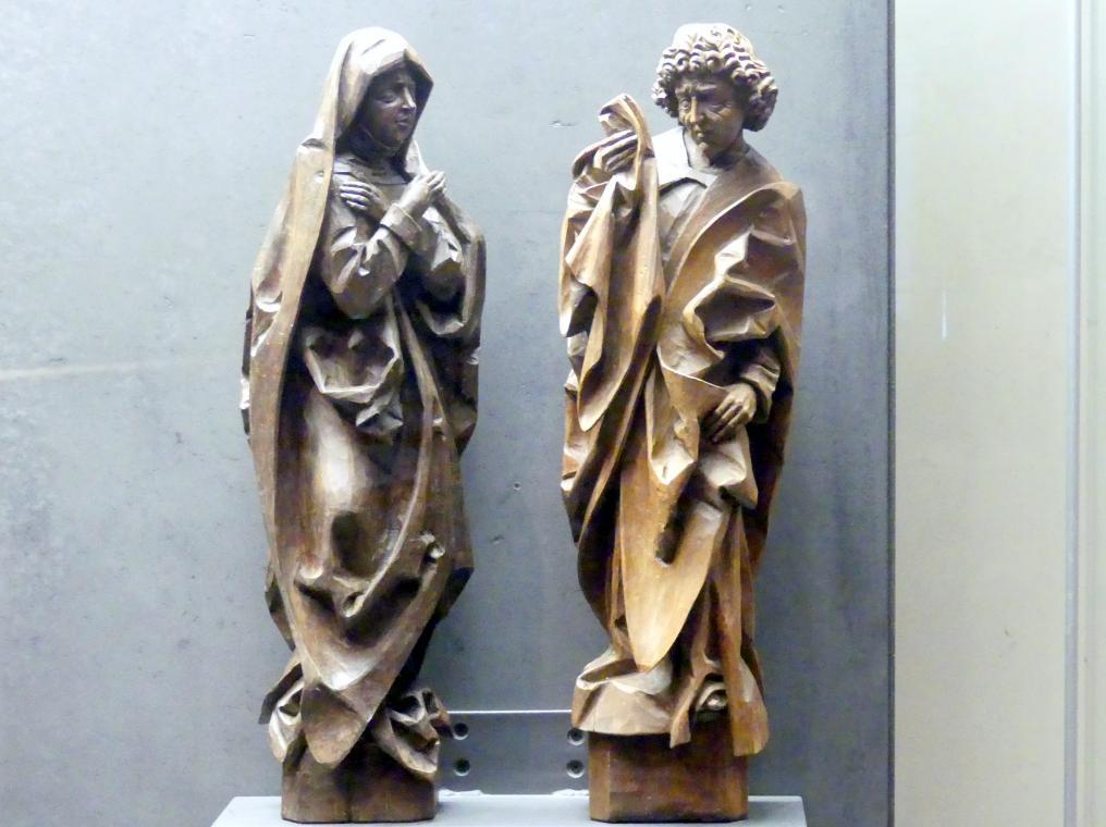 Schmerzhafte Maria und Evangelist Johannes, um 1480
