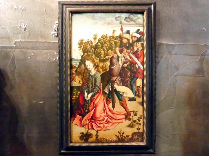 Enthauptung der Heiligen Barbara, Um 1480 - 1490