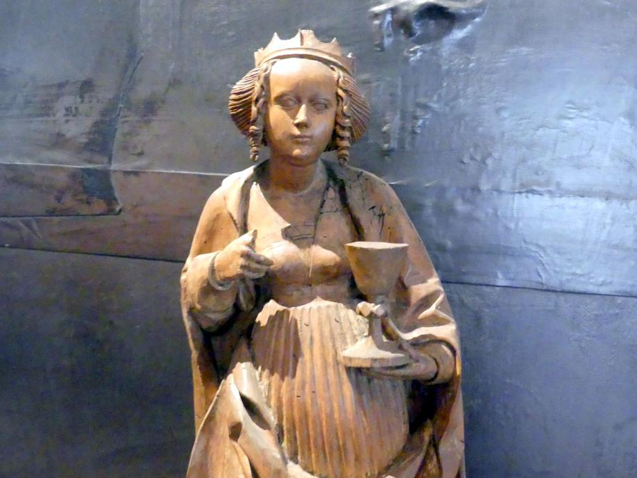 Meister der Teyner Verkündigung: Heilige Barbara, um 1515, Bild 4/5