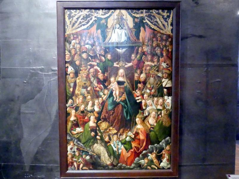 Maria Himmelskönigin vom sog. Osegg-Altar, um 1520