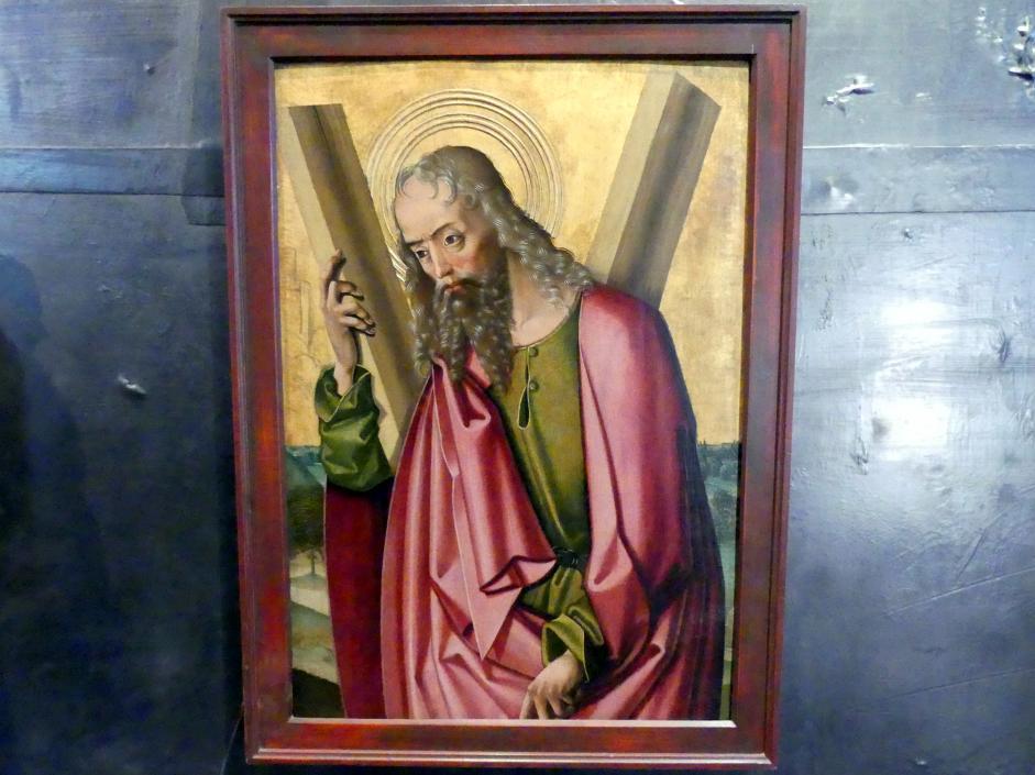 Meister des Leitmeritzer Altars: Apostel Andreas, um 1500