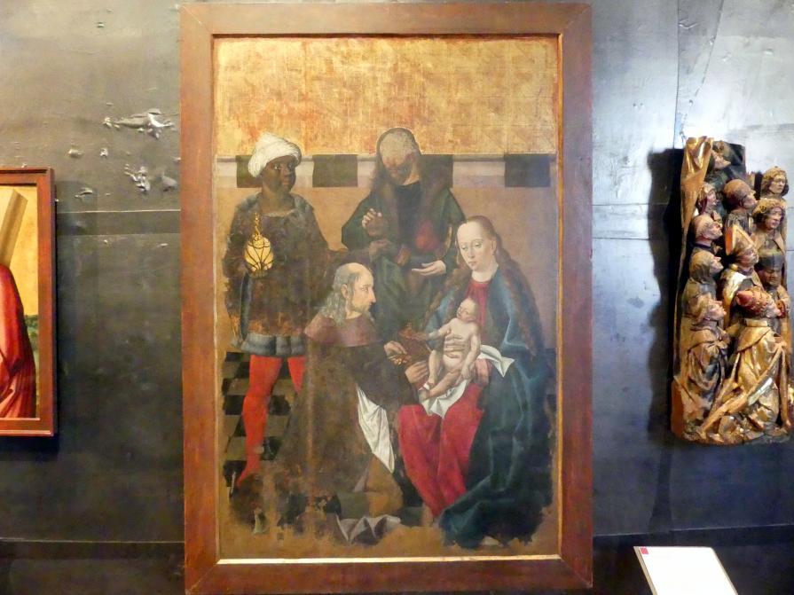 Anbetung der Könige, um 1500