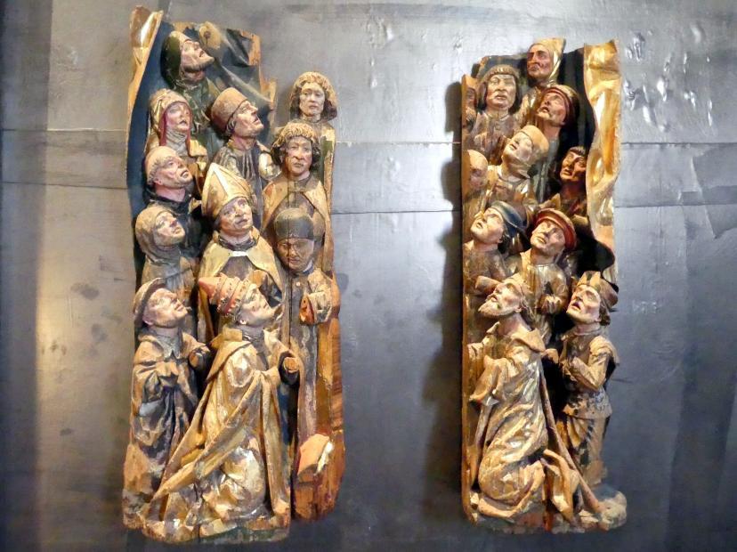Fragment einer Schutzmantelmadonna, Um 1500