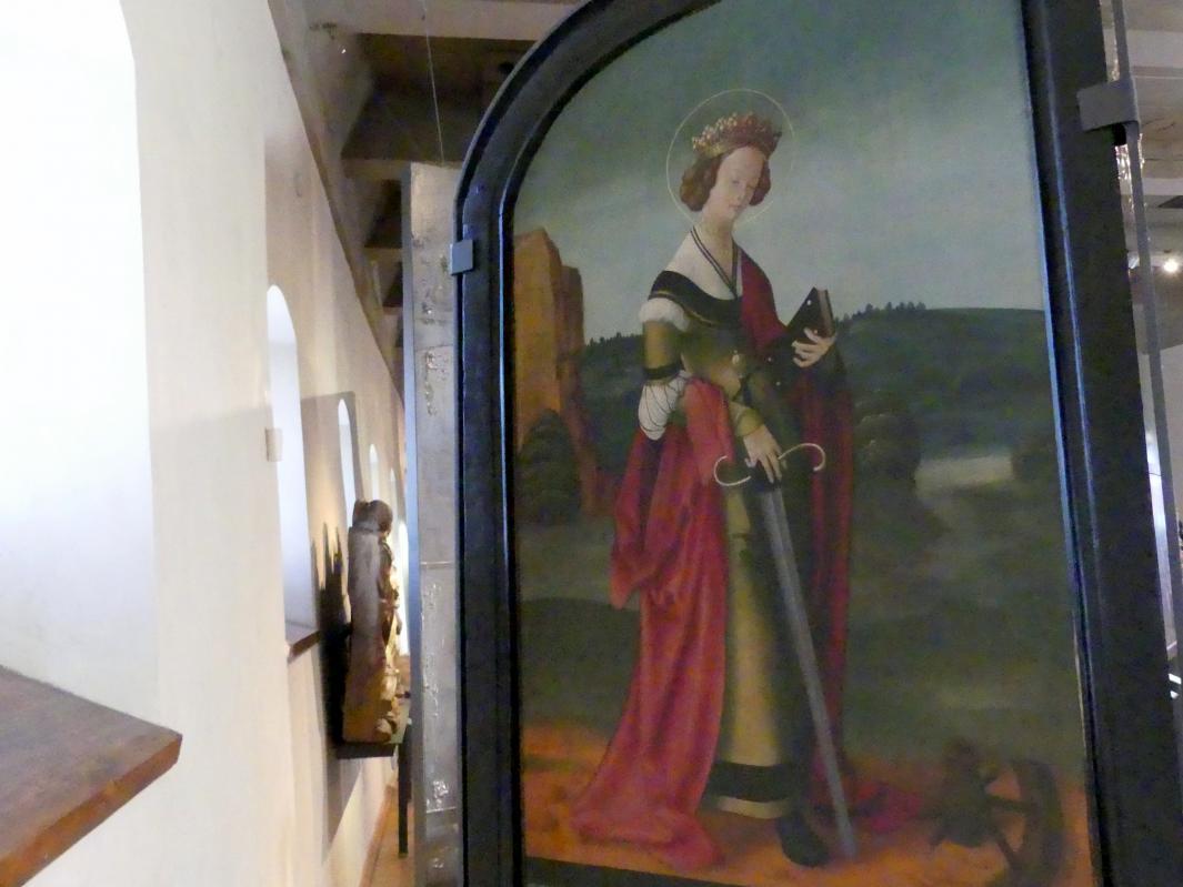 Hl. Katharina, um 1510