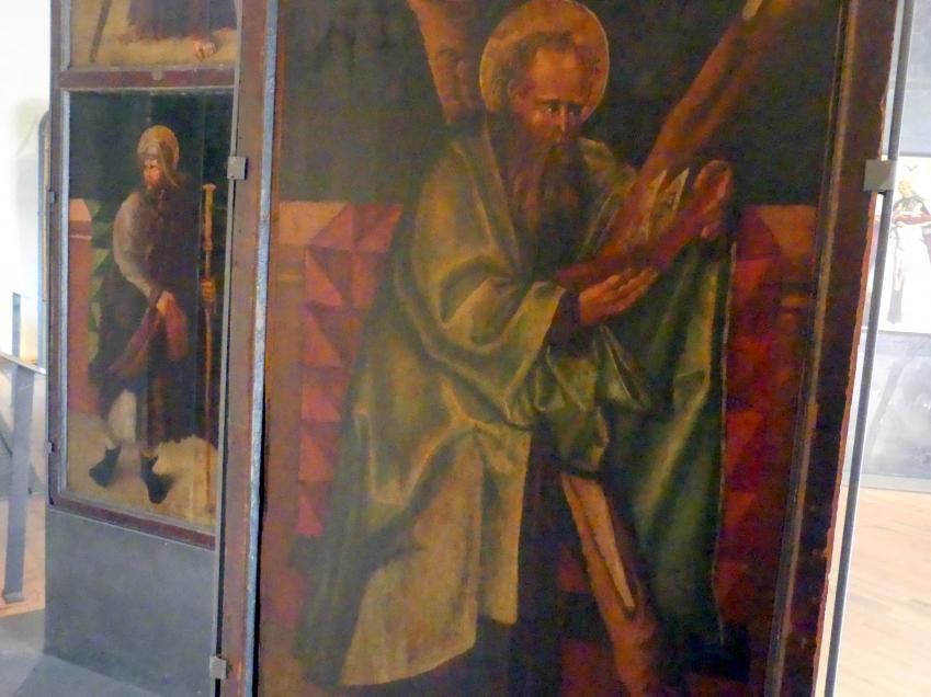 Meister des Leitmeritzer Altars: Tafeln des Teyner Altares, nach 1510, Bild 3/4