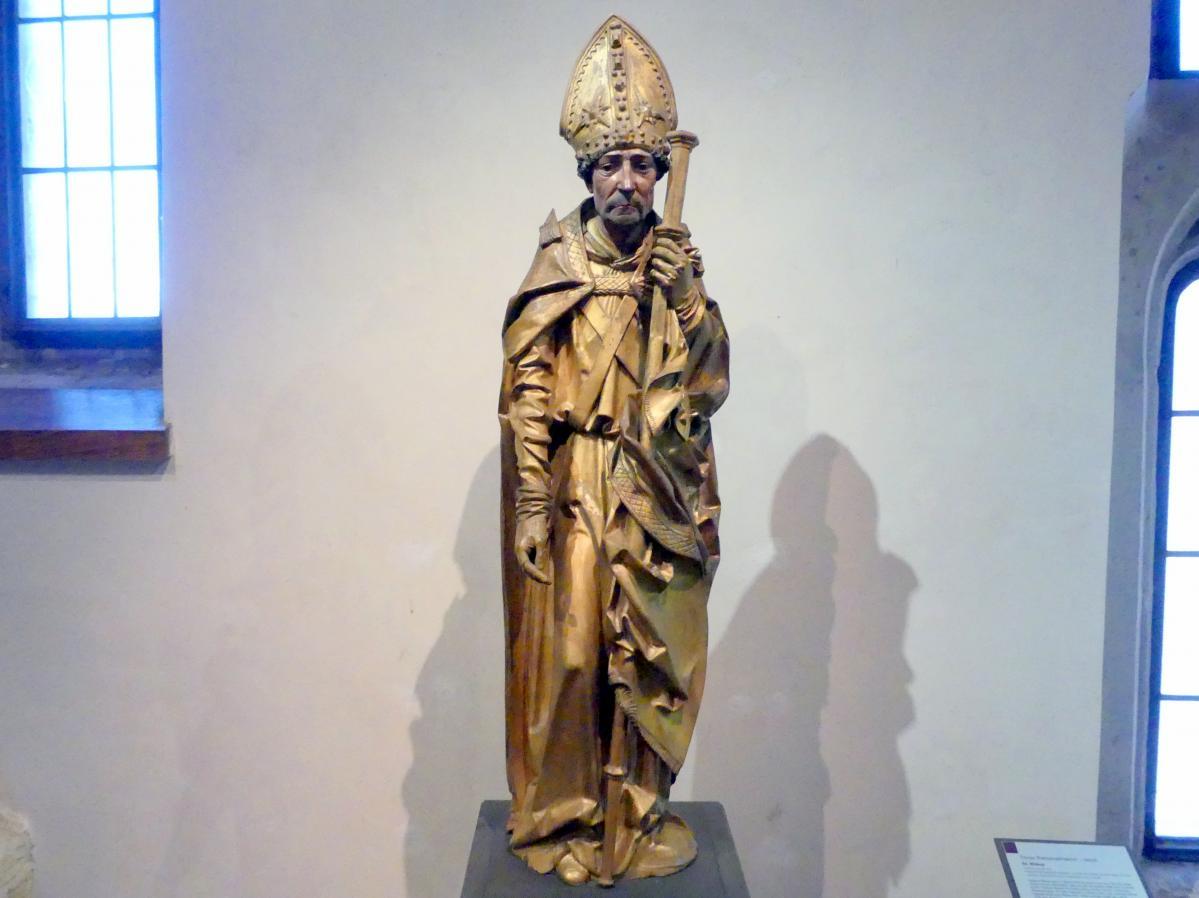 Tilman Riemenschneider (Umkreis): Heiliger Bischof, Um 1500