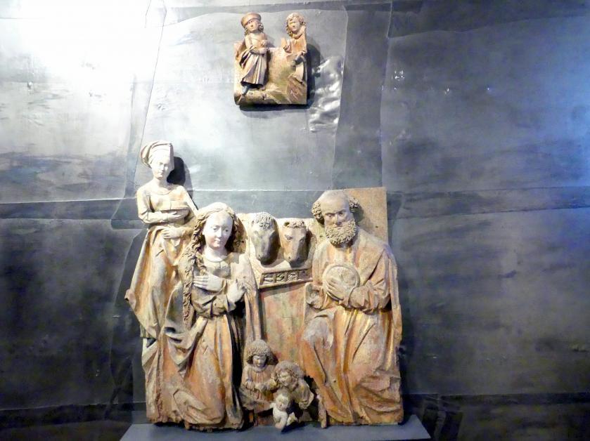 Meister der Olmützer Madonnen: Christi Geburt, 1510 - 1515
