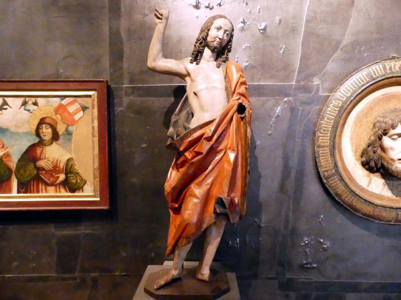 Meister des Dohna-Altares: Auferstandener Christus, Um 1520