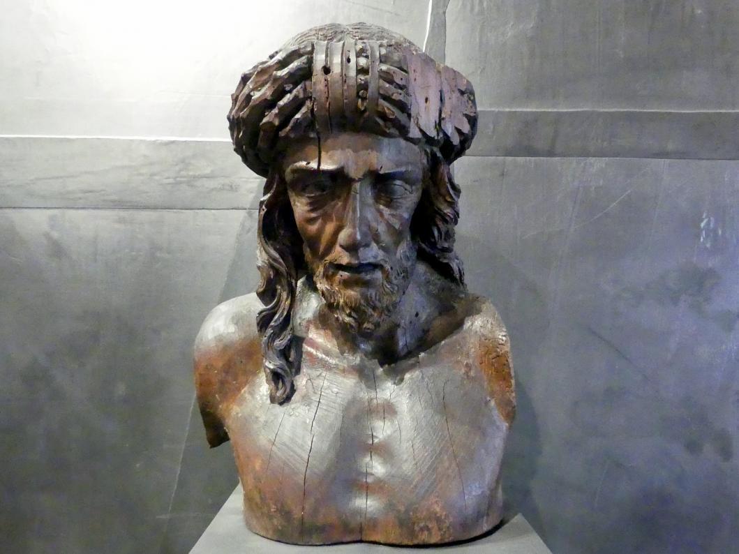 Meister PH: Büste Christi als Schmerzensmann, Um 1525 - 1530