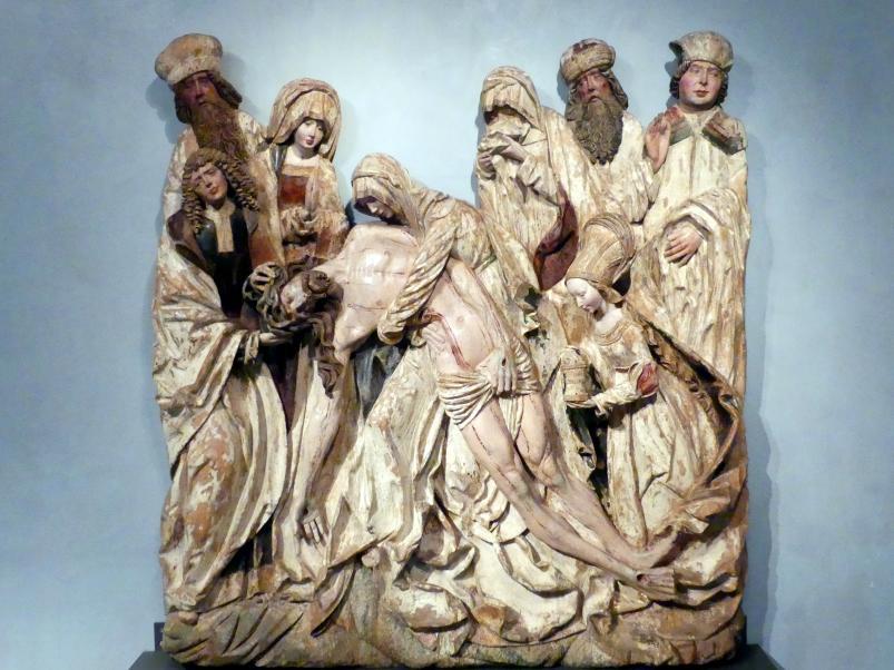 Meister der Beweinung von Bettlern (Žebrák): Beweinung von Bettlern (Žebrák), um 1500 - 1510