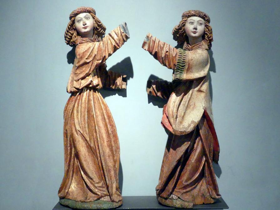 Meister der Beweinung von Bettlern (Werkstatt): Engel, um 1515 - 1520