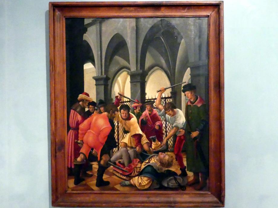 Albrecht Altdorfer: Martyrium des heiligen Florian, um 1525