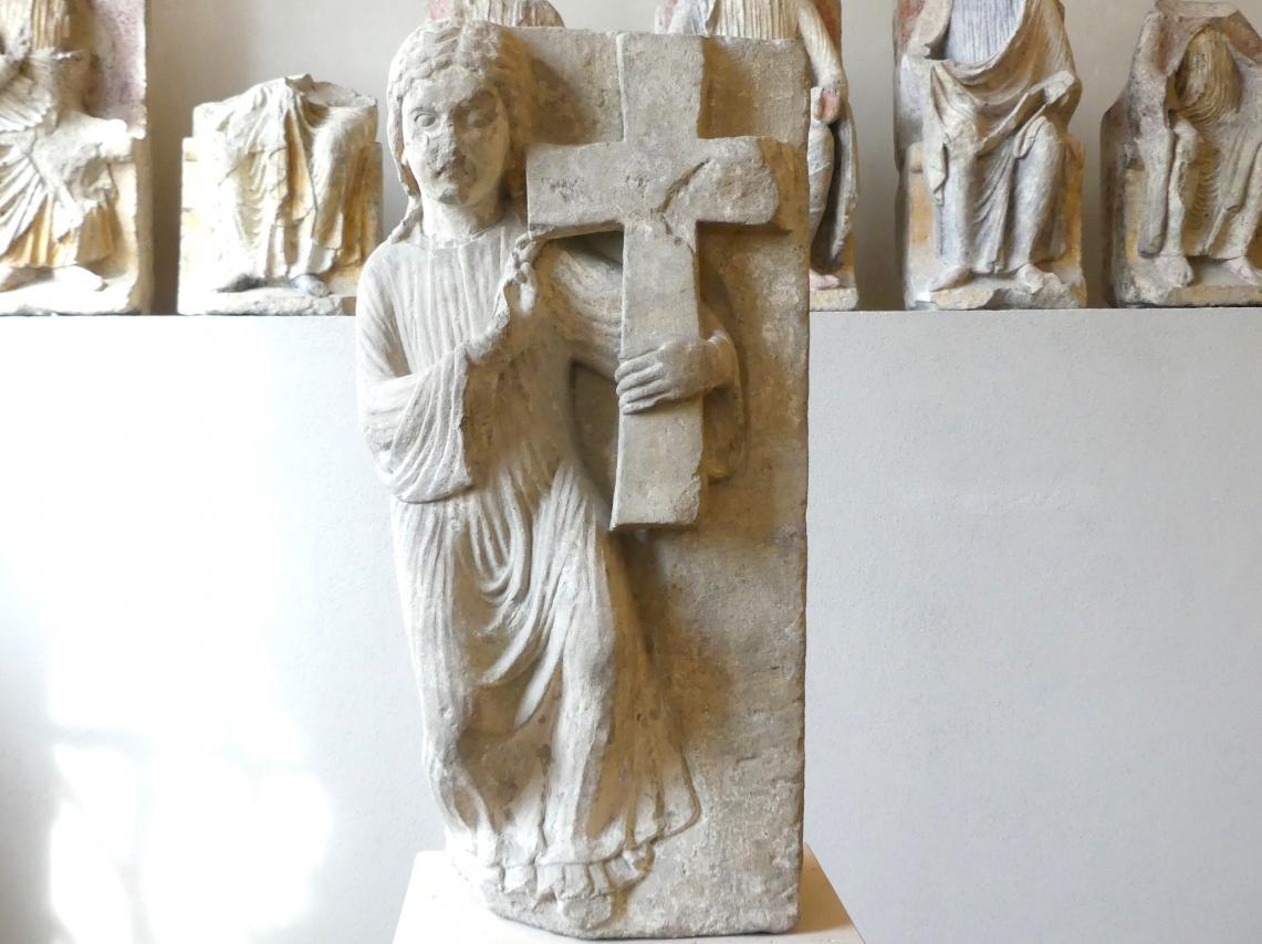 Engel mit dem Kreuz Christi, Um 1250