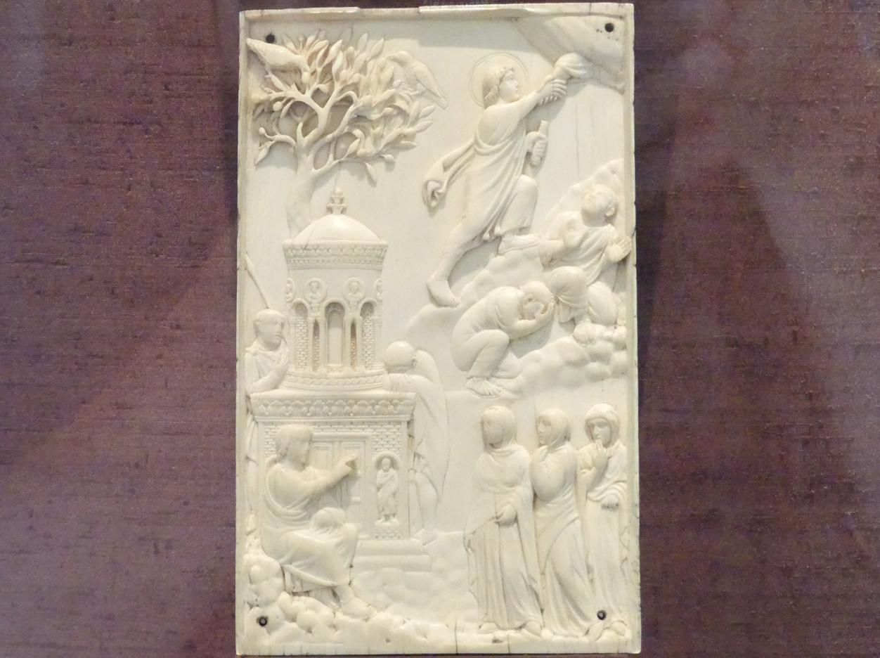 Frauen am Grabe Christi und Himmelfahrt des Herrn, Um 400