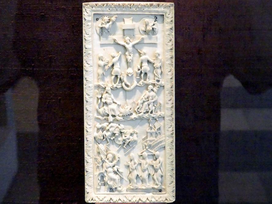 Kreuzigung und Frauen am Grabe, Um 870