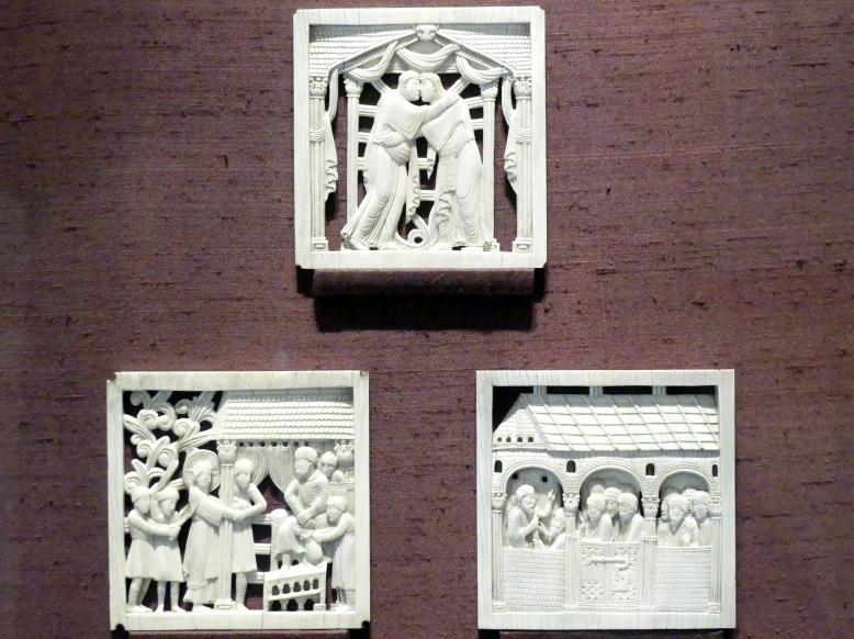 Heimsuchung - Verhör Christi vor Pilatus und Geißelung - Christus erscheint seinen Jüngern, 962 - 973