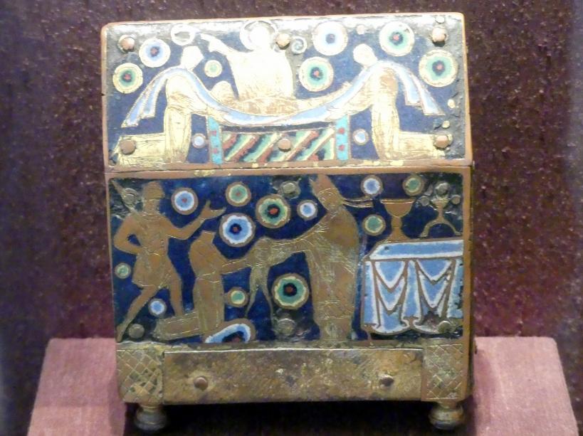 Schreinförmiges Reliquienkästchen, Um 1220 - 1230