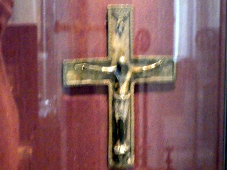 Kreuz mit Kruzifix, Mitte 12. Jhd.