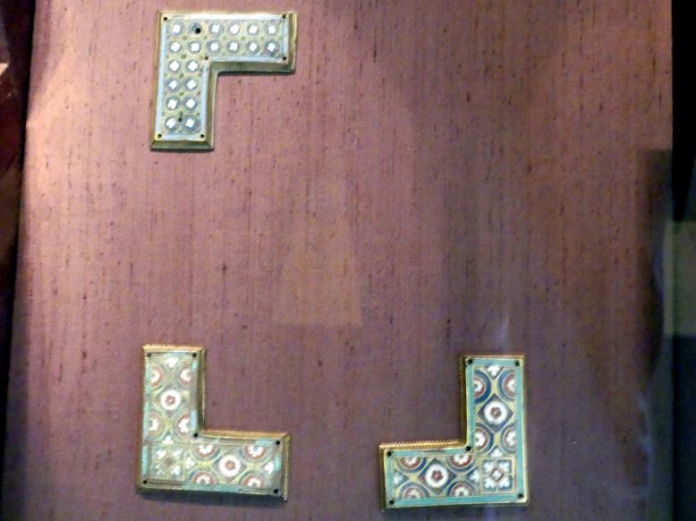 Zierplatten von Reliquien-Schreinen, Um 1180 - 1190