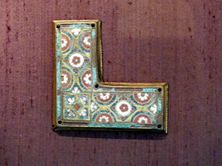 Zierplatten von Reliquien-Schreinen, um 1180 - 1190, Bild 3/5