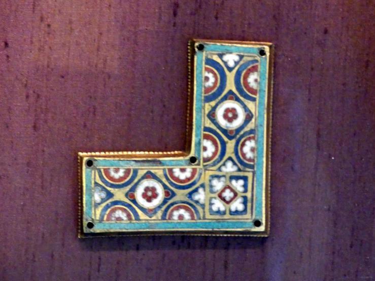 Zierplatten von Reliquien-Schreinen, um 1180 - 1190, Bild 4/5