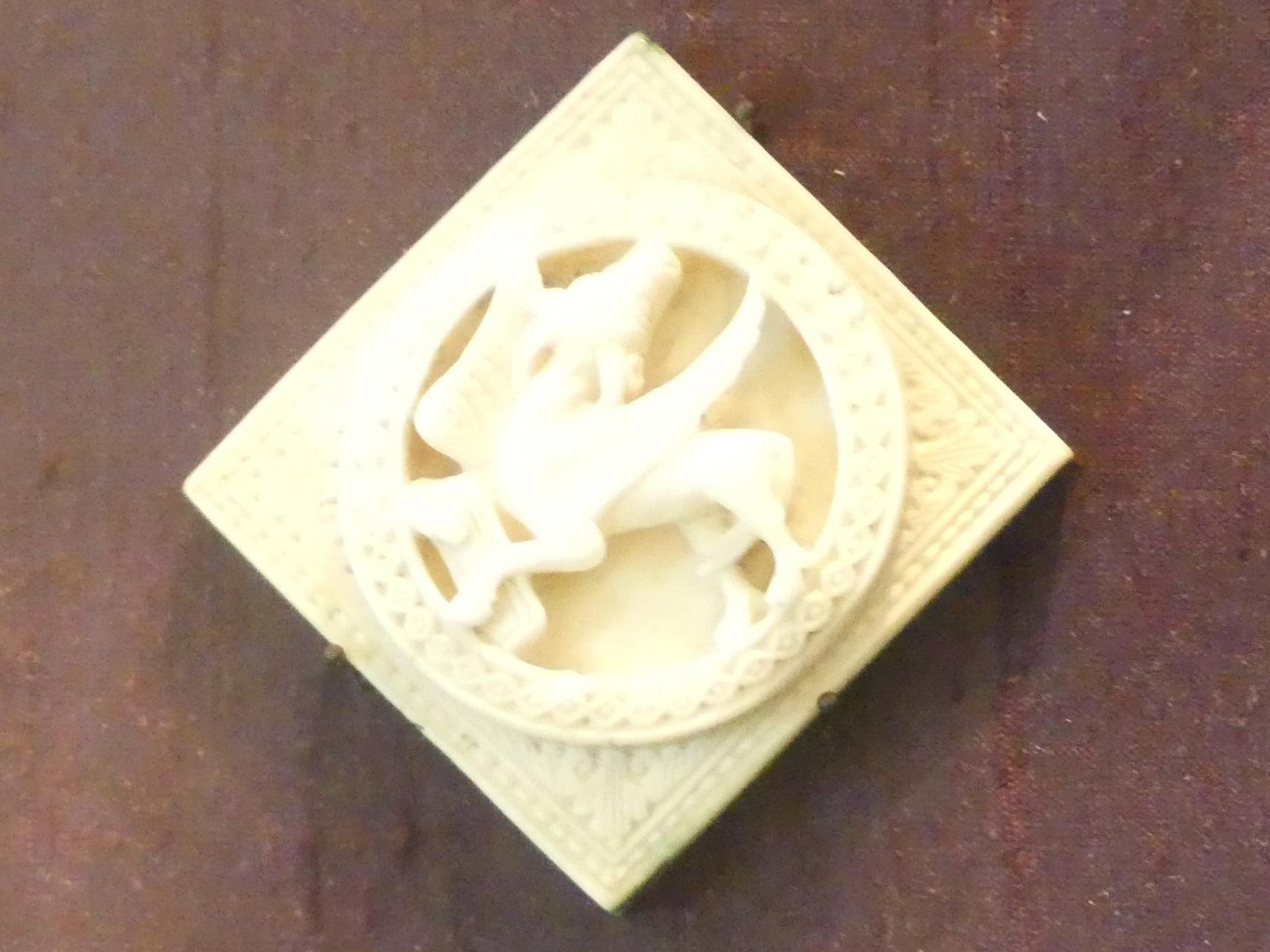 Stiersymbol des heiligen Lukas, 1. Drittel 12. Jhd.