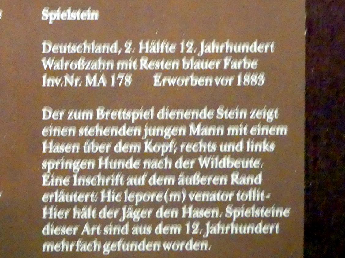 Spielstein, 2. Hälfte 12. Jhd., Bild 2/2