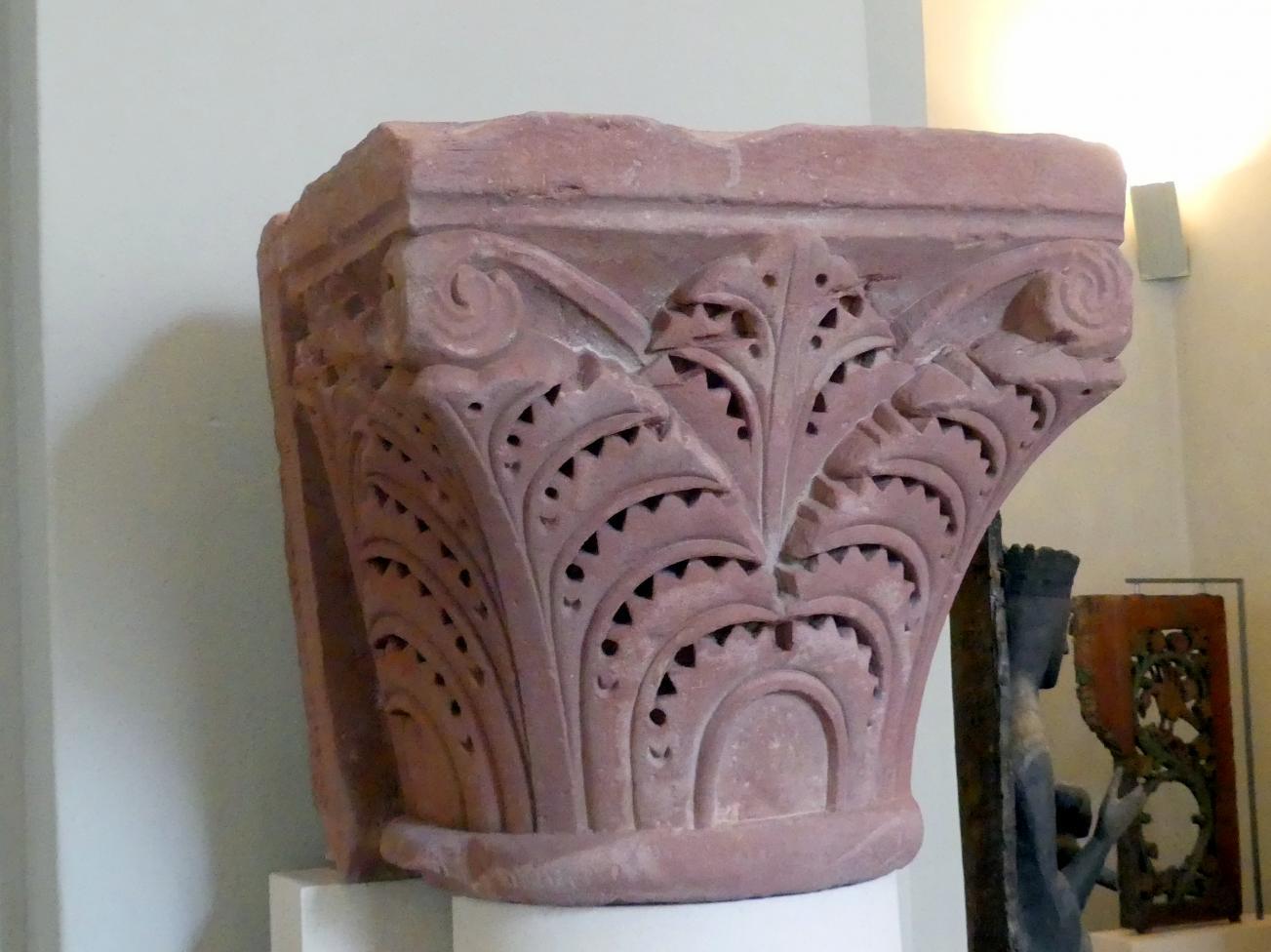 Zwei Wandpfeilerkapitelle, Um 1250