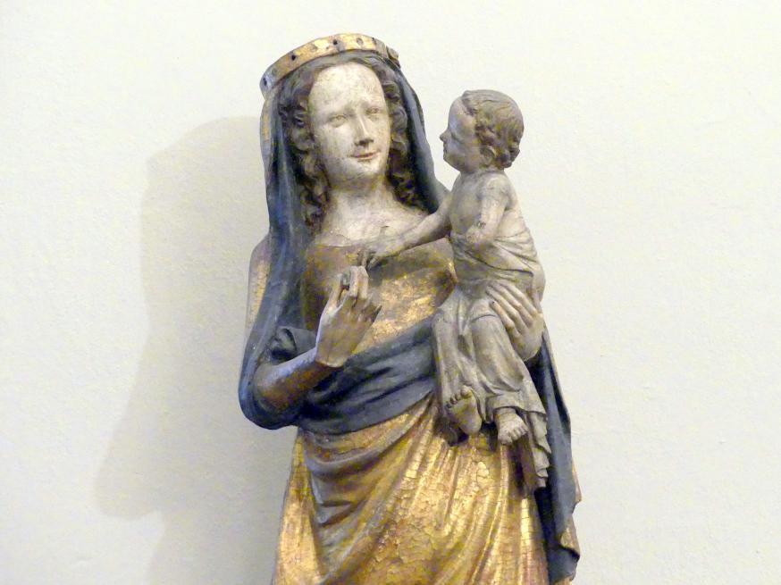 Muttergottes mit Kind, Um 1360