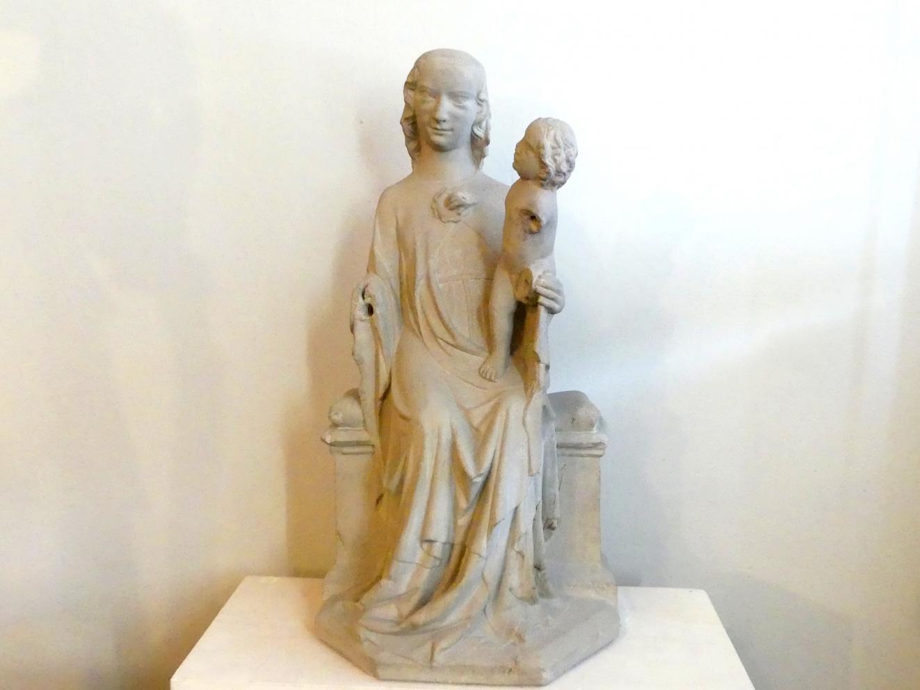 Muttergottes mit Kind, um 1330