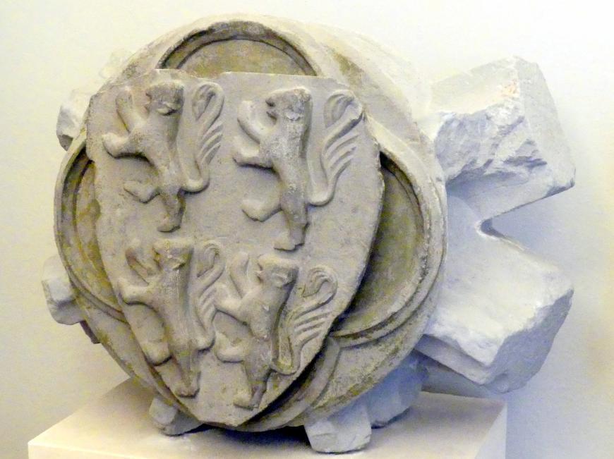 Zwei Schlußsteine, 1324