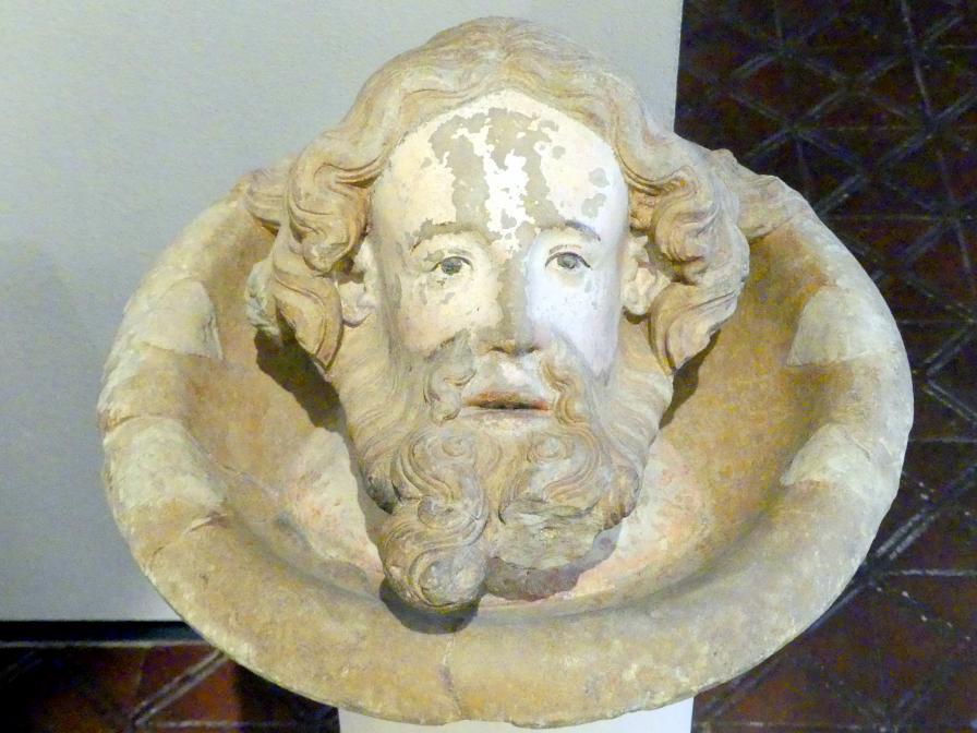Haupt Johannes des Täufers, Um 1330