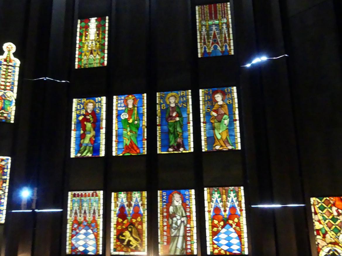 Zehn Scheiben aus Kloster Seligenthal in Landshut, 1. Viertel 14. Jhd.
