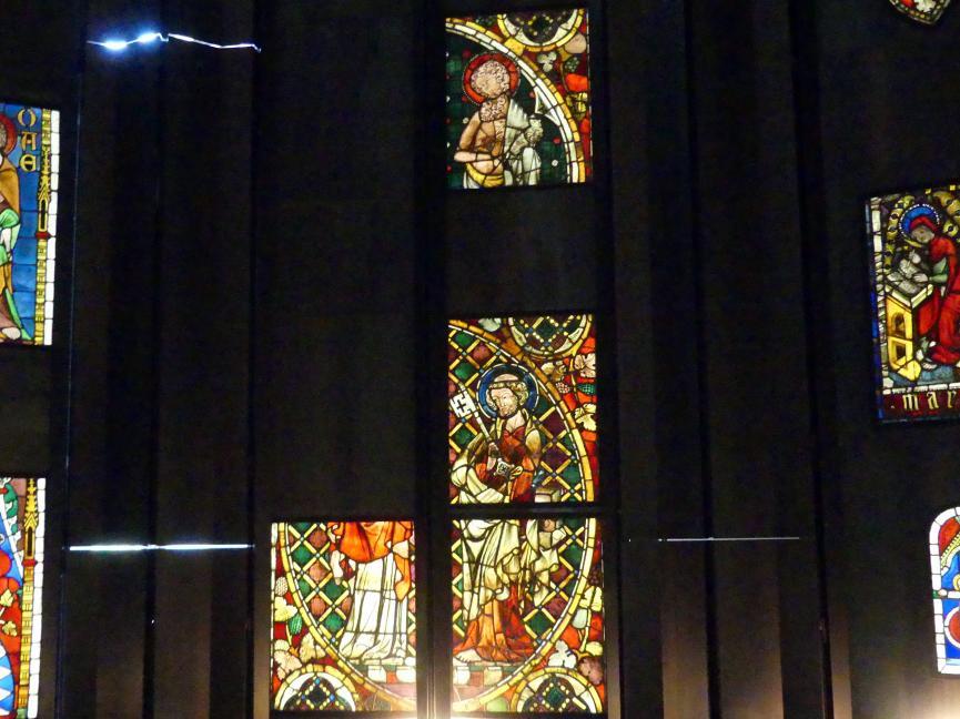 Vier Scheiben aus Hauterive Freiburg in der Schweiz, Um 1340