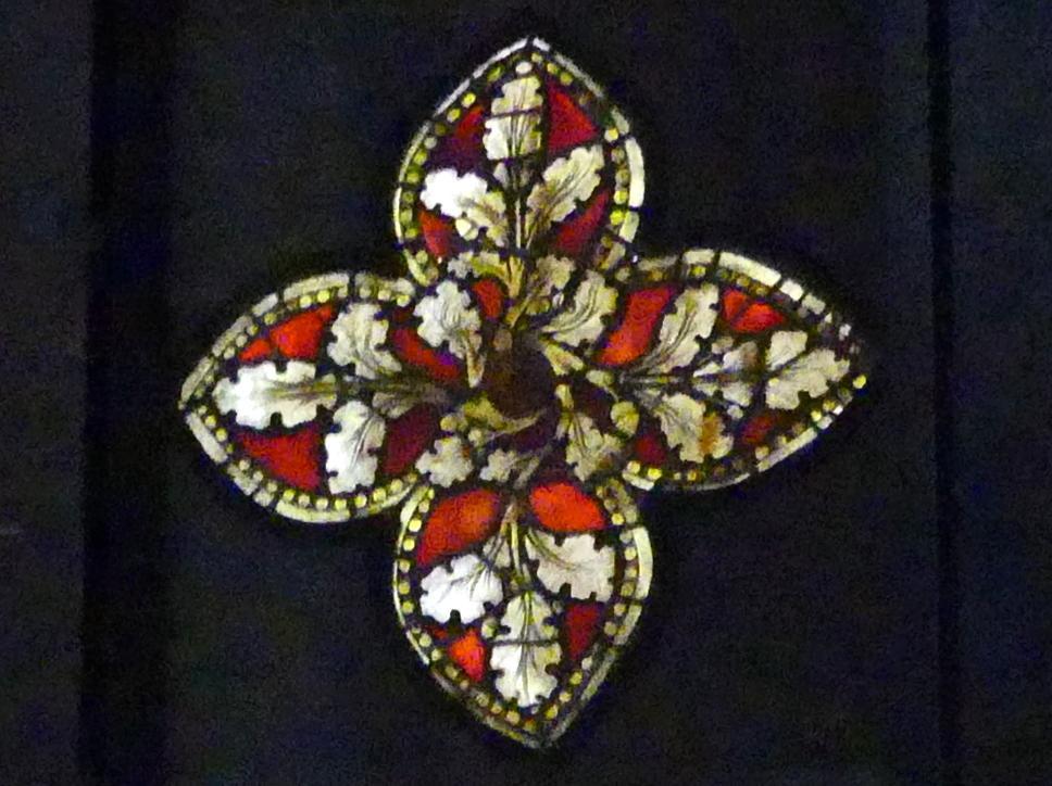 Vierpaßscheibe, Um 1350